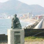 The statue of Takuboku Ishikawa