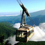 大雪山系黒岳とロープウェイ