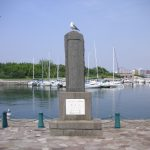新島襄 海外渡航の碑