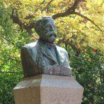 Bust of Dr. Clark, Hokkaido University