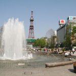 大通公园喷水