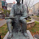 Bronze statue of Kametaro Otomo