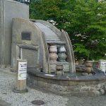 河童家族许愿手浴温泉