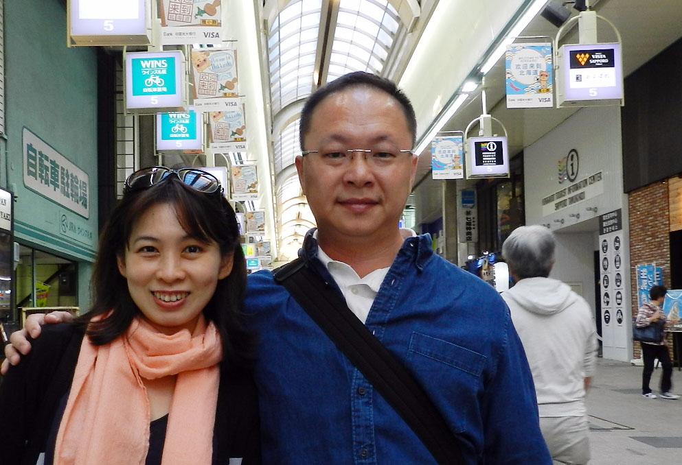 9月11日 札幌:狸小路商店街