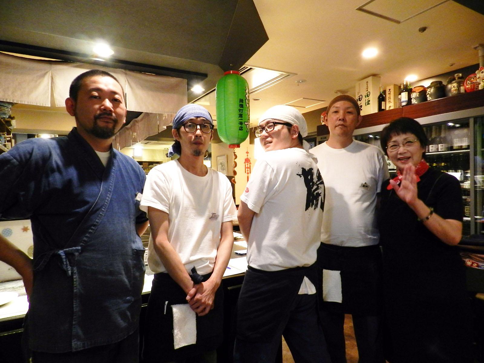 9月11日 札幌的餐厅 牡蛎专门店 开(人气店 店员的照片)