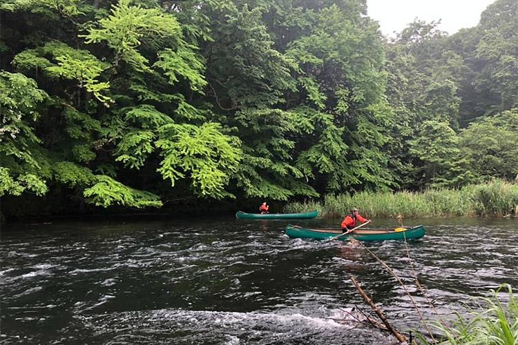 Chitose River Half-Day Down River