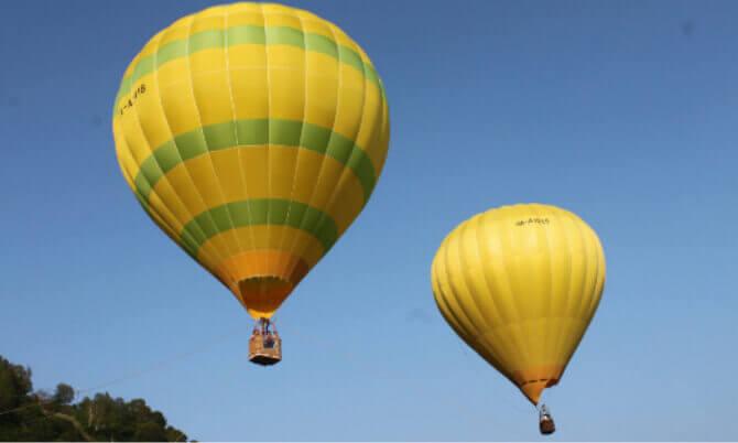 二世古北海道热气球系留体验