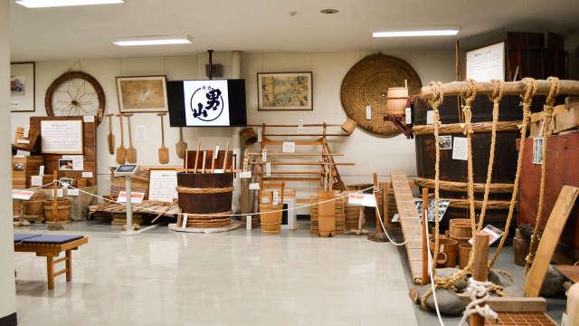 Otokoyama Sake Brewing Museum