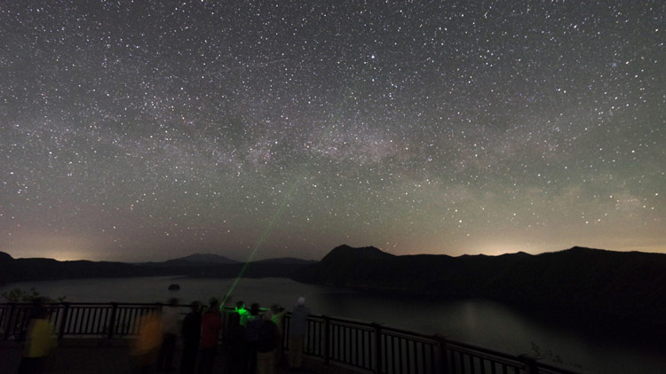 Lake Mashuko Star Travelogue