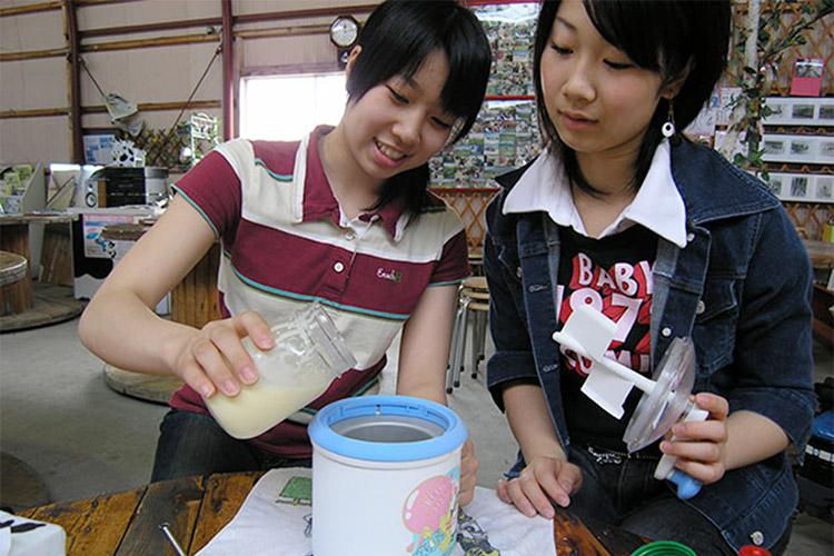 冰淇淋制作体验