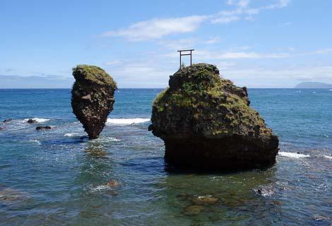えびす岩・大黒岩